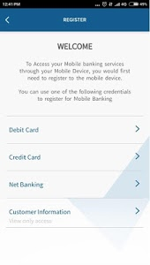 screenshot of YES BANK version 3.5