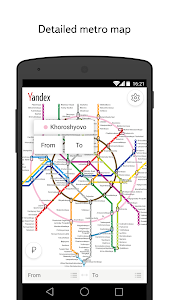Download Yandex.Metro — detailed metro map and route times 2.13 APK