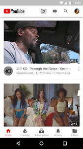 screenshot of YouTube version Varies with device