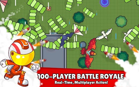 screenshot of ZombsRoyale.io - 2D Battle Royale version 1.7.6