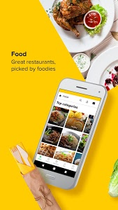 screenshot of honestbee: Grocery delivery & Food delivery version 2.56.0