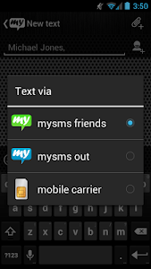 Download mysms - Chrome Theme 1.9 APK