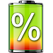 Download show battery percentage 27.0 APK