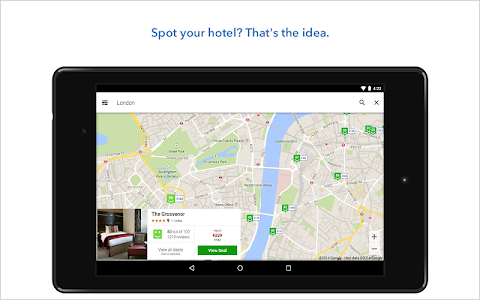 screenshot of trivago - The Hotel Search version 3.2.0