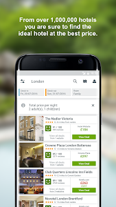 screenshot of trivago - Hotel & Motel Deals version Varies with device